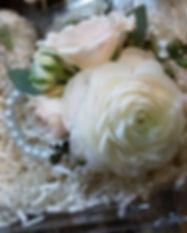 #ranunculus and #sprayrose #corsage_._._