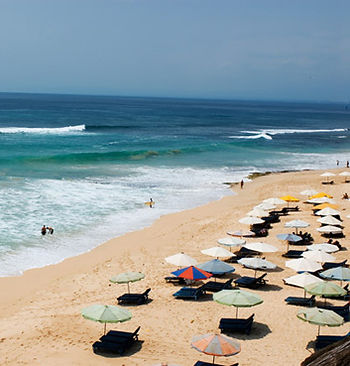 Dreamland surf break, Bali, Indonesia