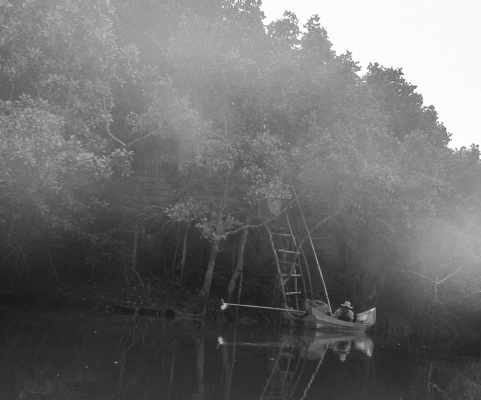 Fishermen shack