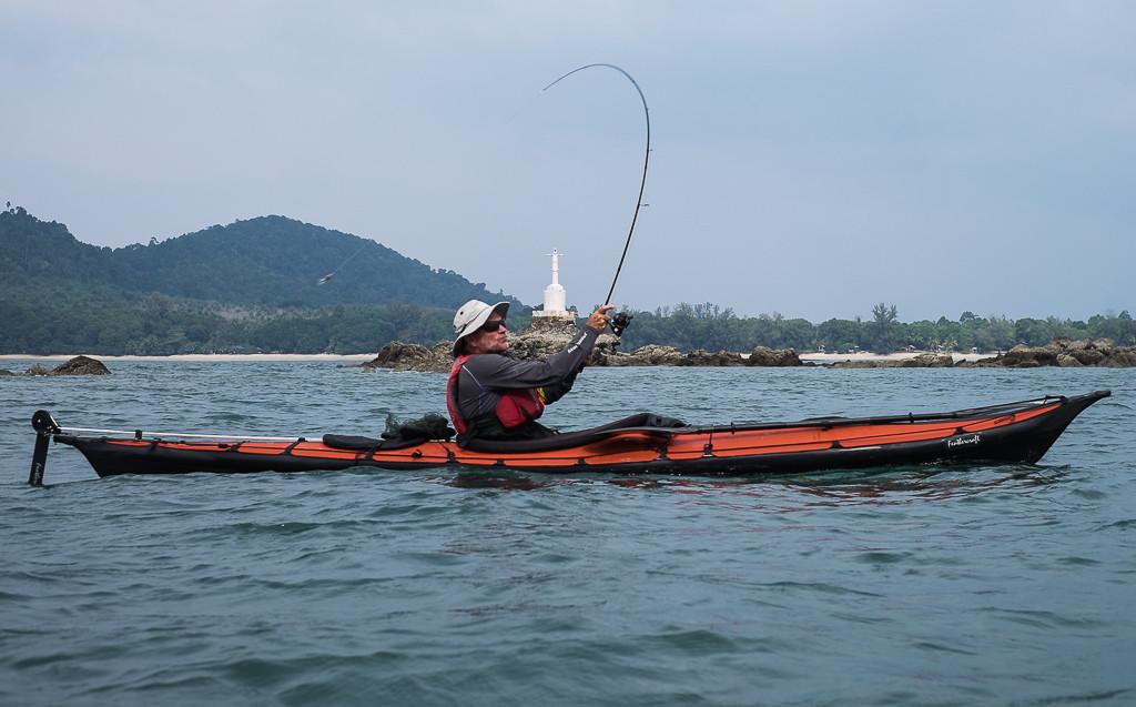 Casting near Koh Chang