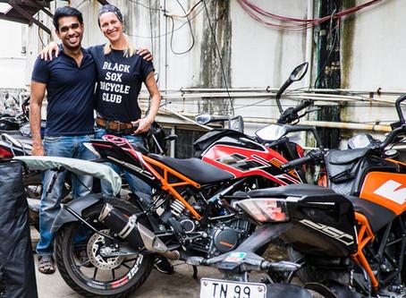 South India Road Trip - Chennai Motorcycle Rental