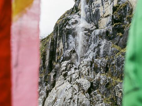 The Sacred Waterfall - Yunnan, China