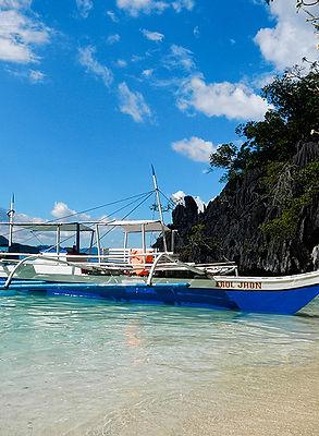 Banca, Coron Island, Philippines