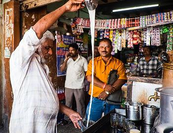 Chai stall - Tamil Nadu, India