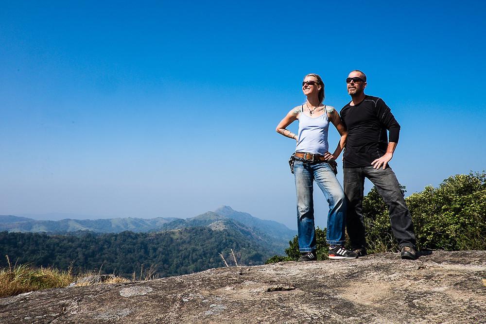 Hilltop views, Kerala, India
