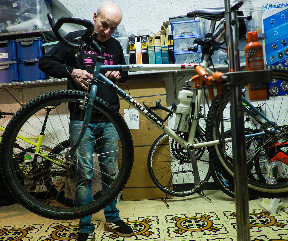 Oddone Bike Caffe, Finale Ligure, Italy