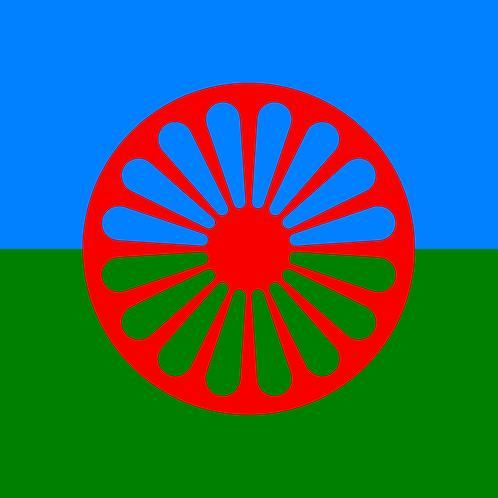 Romani-Gypsy Flag