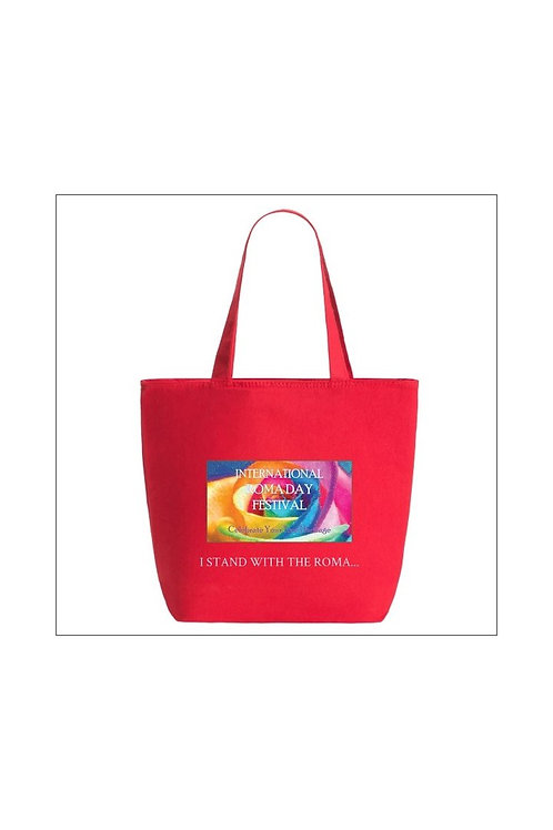 Medium Size I Stand With The Roma Tote Red