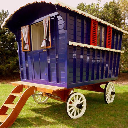 Relax in a VIP Viewing Gypsy Caravan During the Parade!