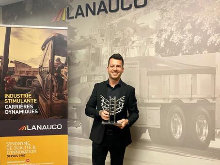 Félicitations à Lanauco, lauréat des Mercuriades 2021