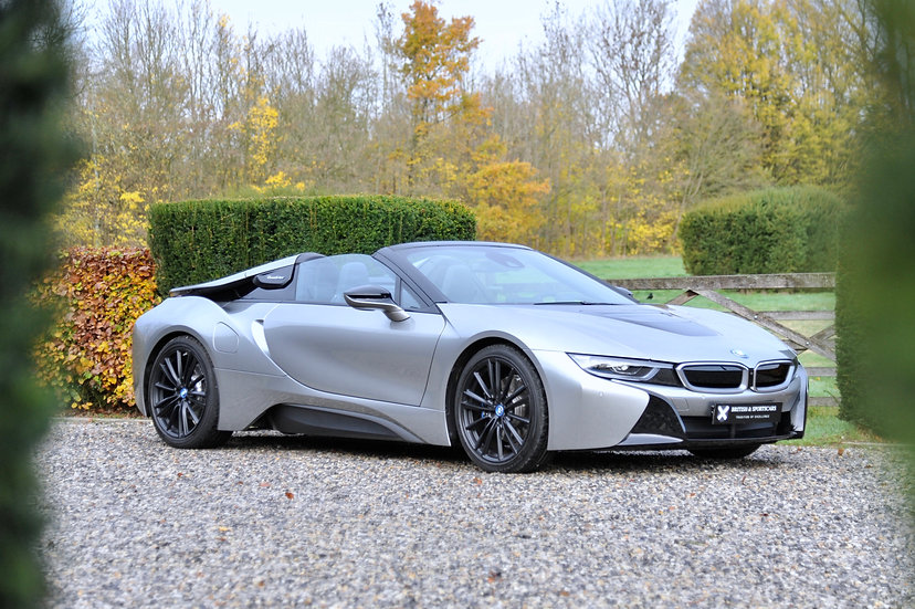 BMW i8 Roadster First Edition (1 of 200)