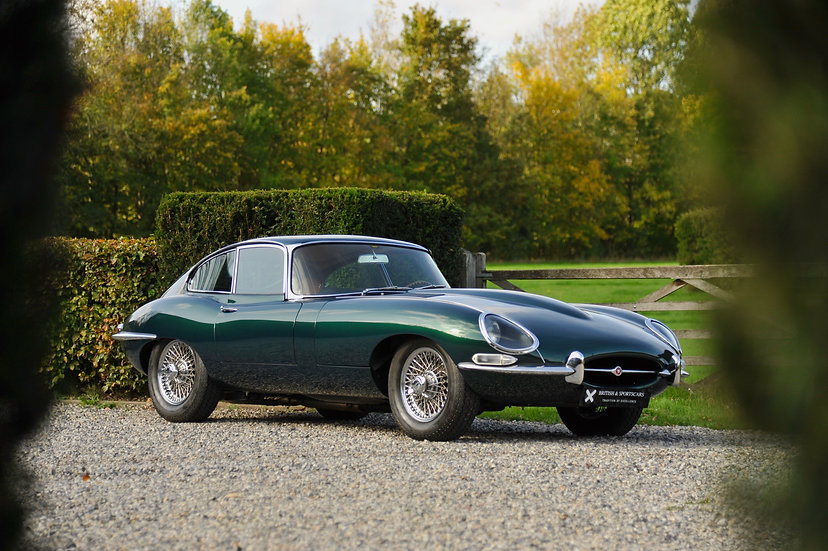 """Jaguar E-Type Coupe """"Serie 1"""" 3.8"""