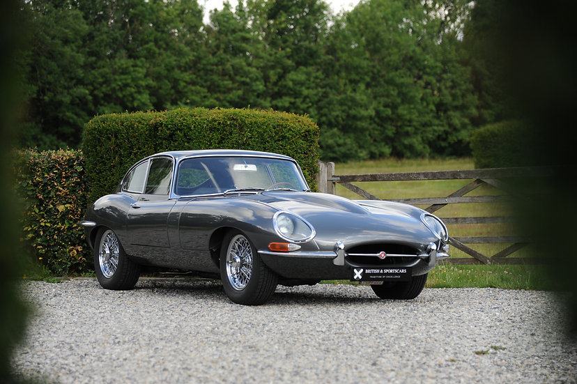 Jaguar E-type Coupe S1 'Flat floor'
