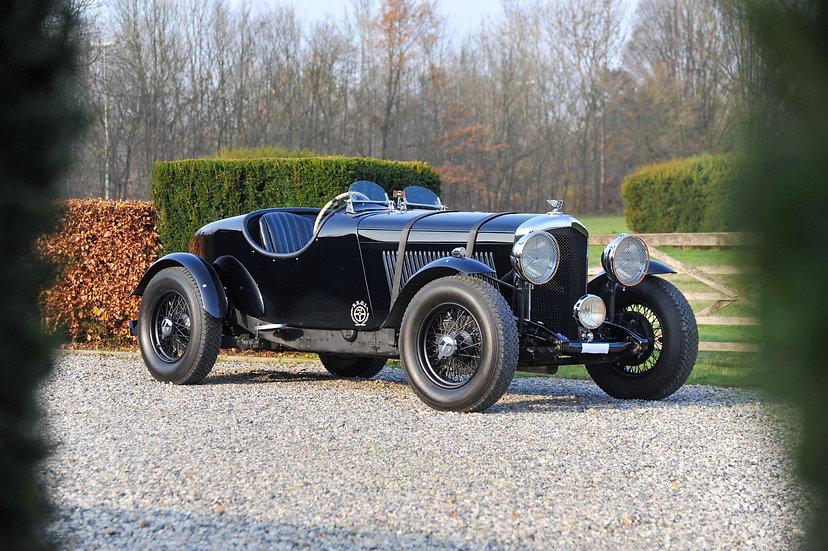 Bentley 3 ½ liter Sports Special 1935