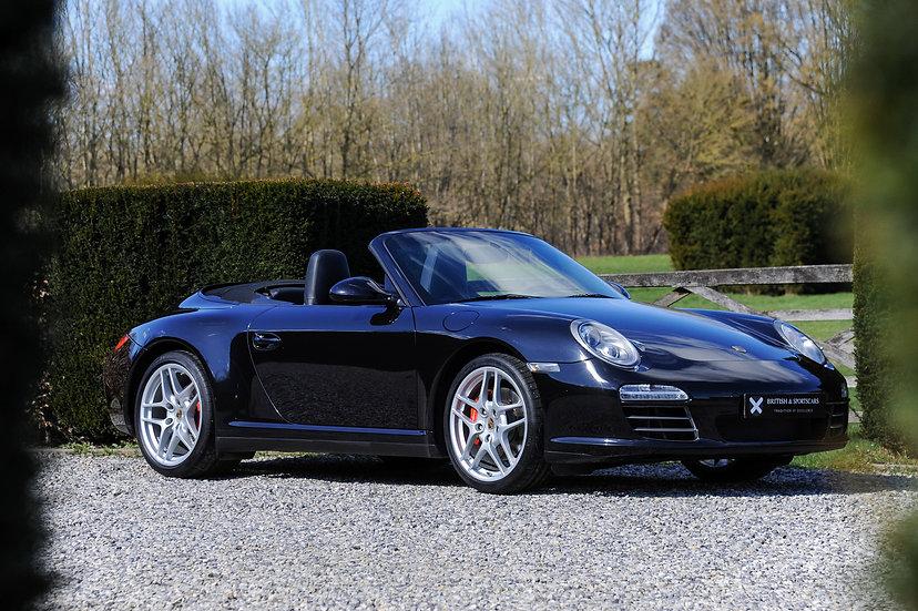 Porsche 911 (997.2) 4S Cabriolet Manual
