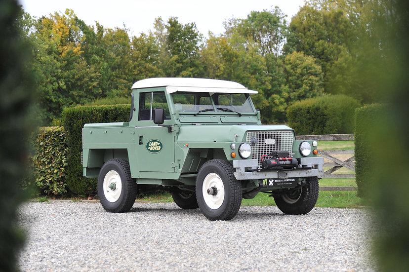 Land Rover Military Series III Lightweight