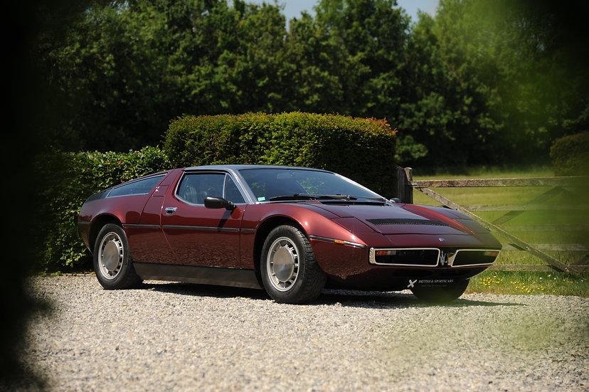 Maserati Bora 4.7 Litre