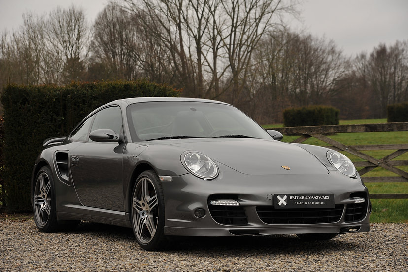 Porsche 997.1 Turbo Manual