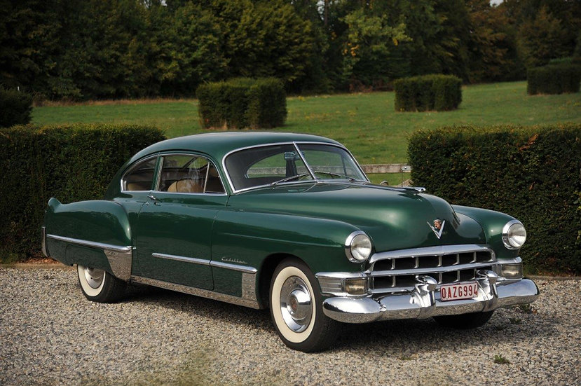 """Cadillac Series 62 Coupe – Sedanette """"Fastback"""""""