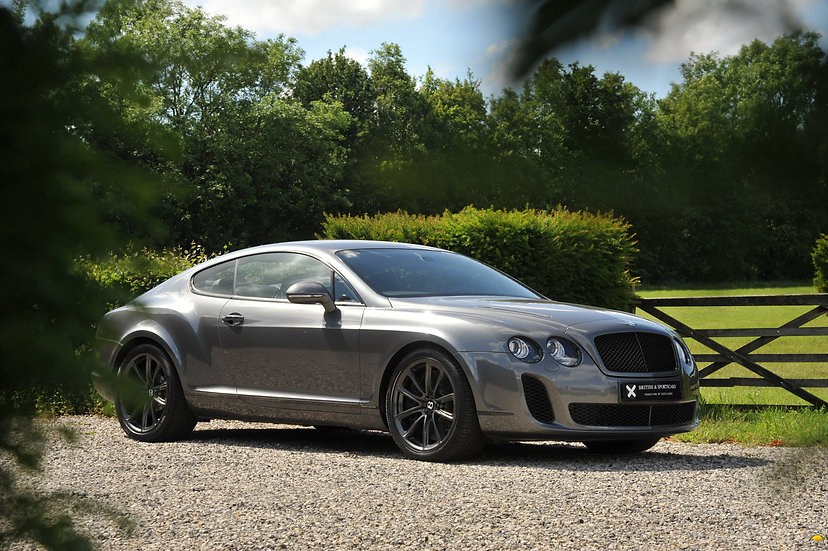 Bentley Continental GT Supersports 2+2