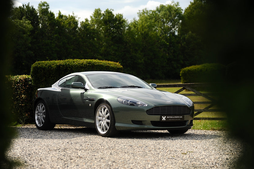 "Aston Martin DB9 ""Manual gearbox"""