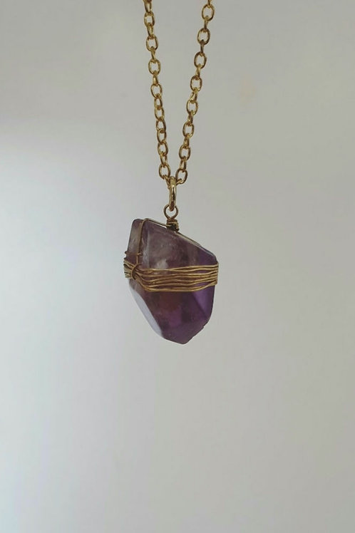 Wire Wrapped Crystal Drops
