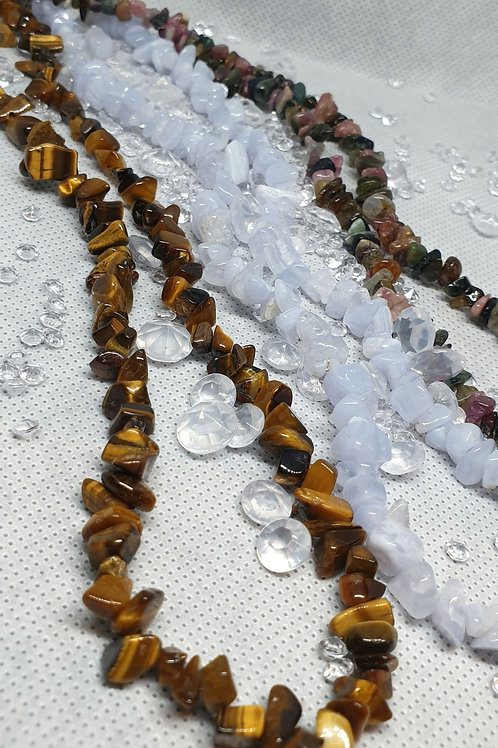 Crystal Chip Necklaces