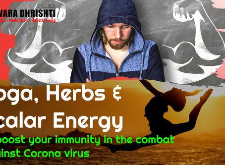 Herbs and Scalar Energy to boost your immunity in the combat against Coronavirus by Rehana Edison