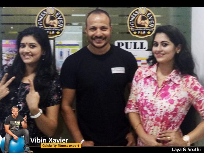 Vibin Xavier with Laya & Sruthi