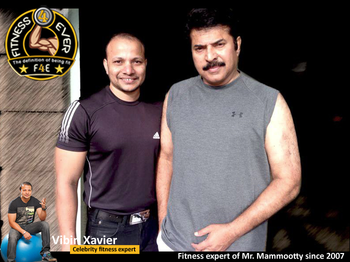 Mammootty with Vibin Xavier