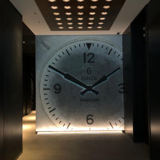 Aloft銀座 GINZA OLD Clock