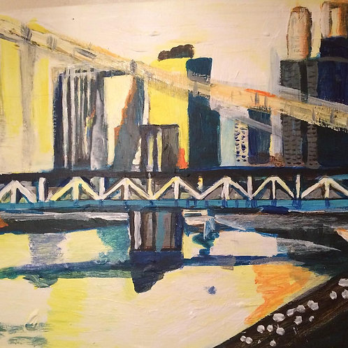 Manhattan Bridge!