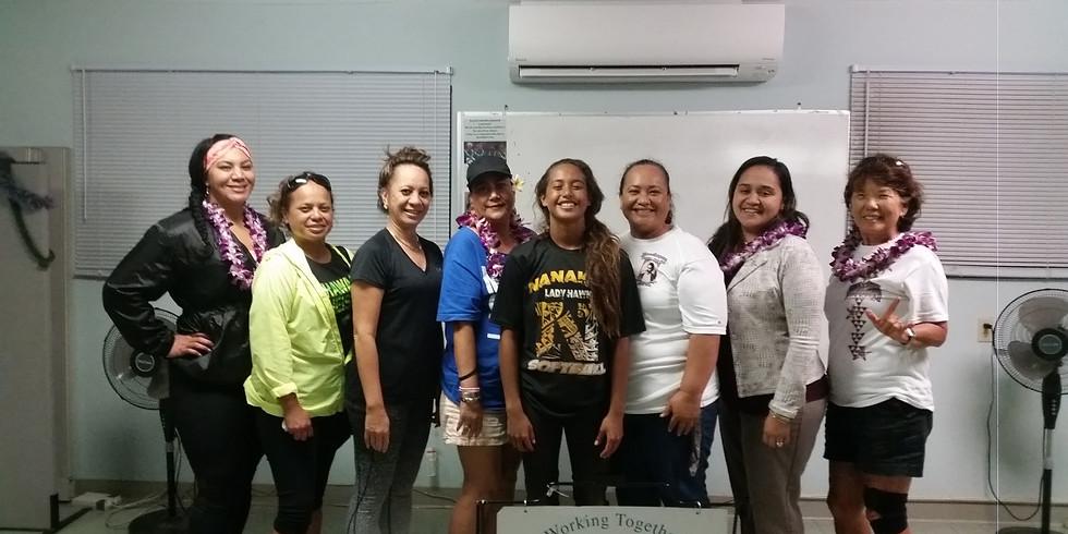 Nanaikapono Hawaiian Civic Club #4 Quarterly Meeting