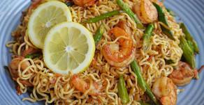 "Pancit ""long noodle"" (Lucky me Brand)"