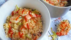 Bang Bang Shrimp Fried Rice