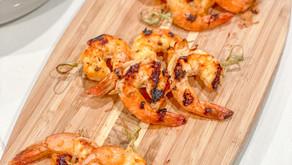 Fourth of July's Firecracker Grilled Shrimp