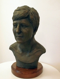 Bust of Junita Kirby