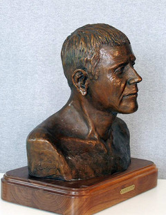 Bust of Charles Lewis (right side)