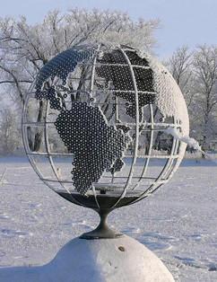 Globe (winter hoar frost)