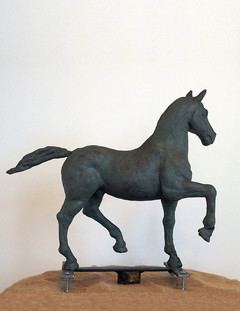 Study for the Horse in History (right side)