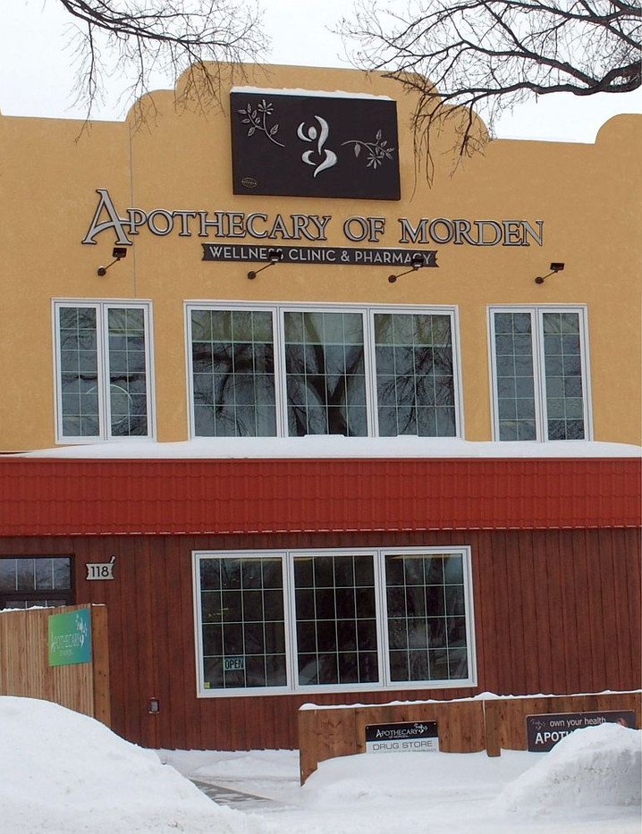 Morden Apothecary Logo