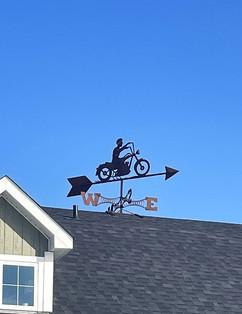 Josée's Biker (silhouette)
