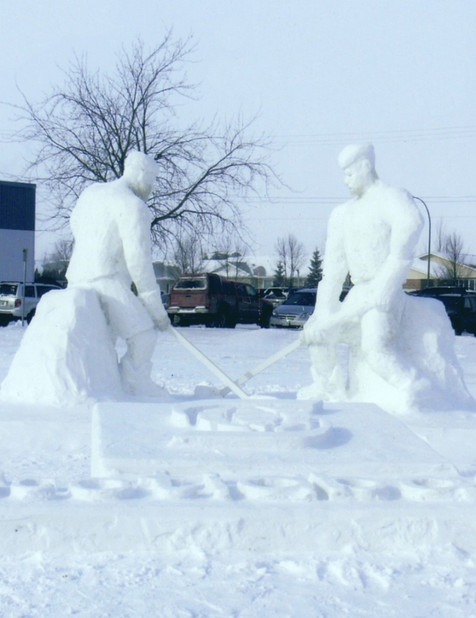 Hockey Players (Faceoff)