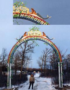 Debonair Campground Arch