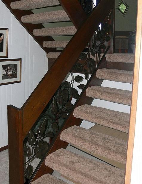 Decorative Railing Insert (installed)