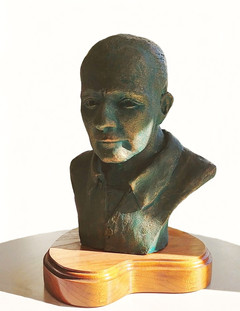 Bust of David F. Goertzen (1916-1990)