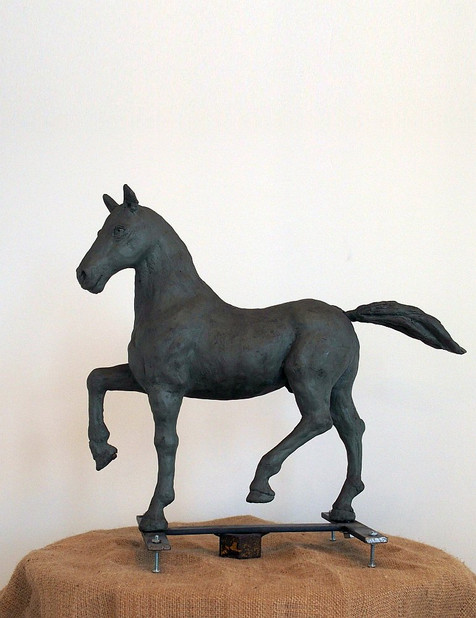Study for the Horse in History (left side)
