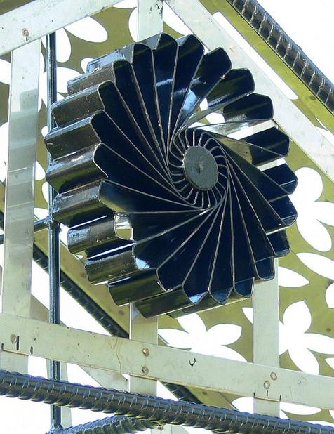 """Turbine Fan"" for The Confessional Arbor"