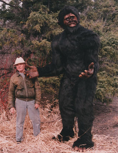 Sasquatch (with Jake on the right)