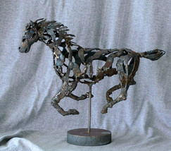 Horse in Overdrive (Galloping, left side)